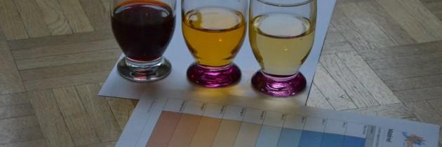 Tests des couleurs
