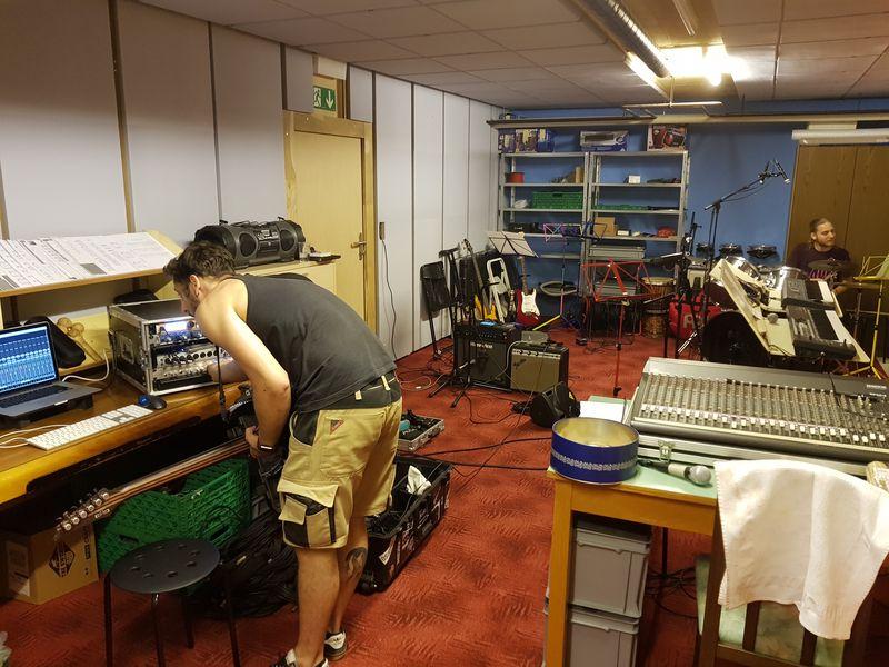 Installation pour enregistrement